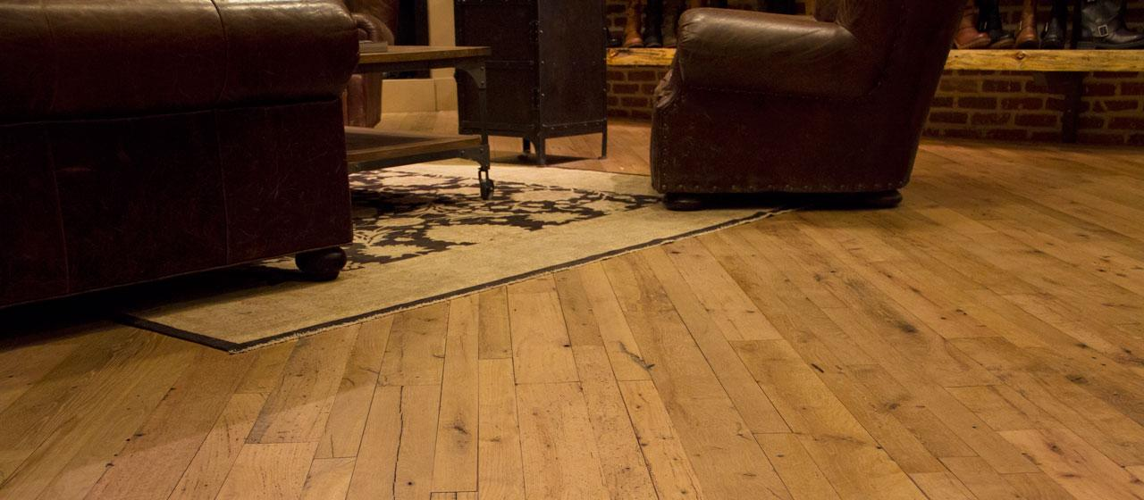 Reclaimed Wide Plank Flooringwith A Story All It S Own