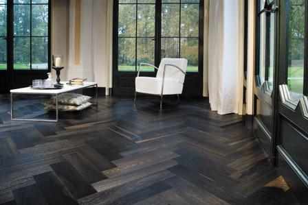webassets/Louvre2.jpg. Call For Prices on all Custom Flooring - Herringbone Black