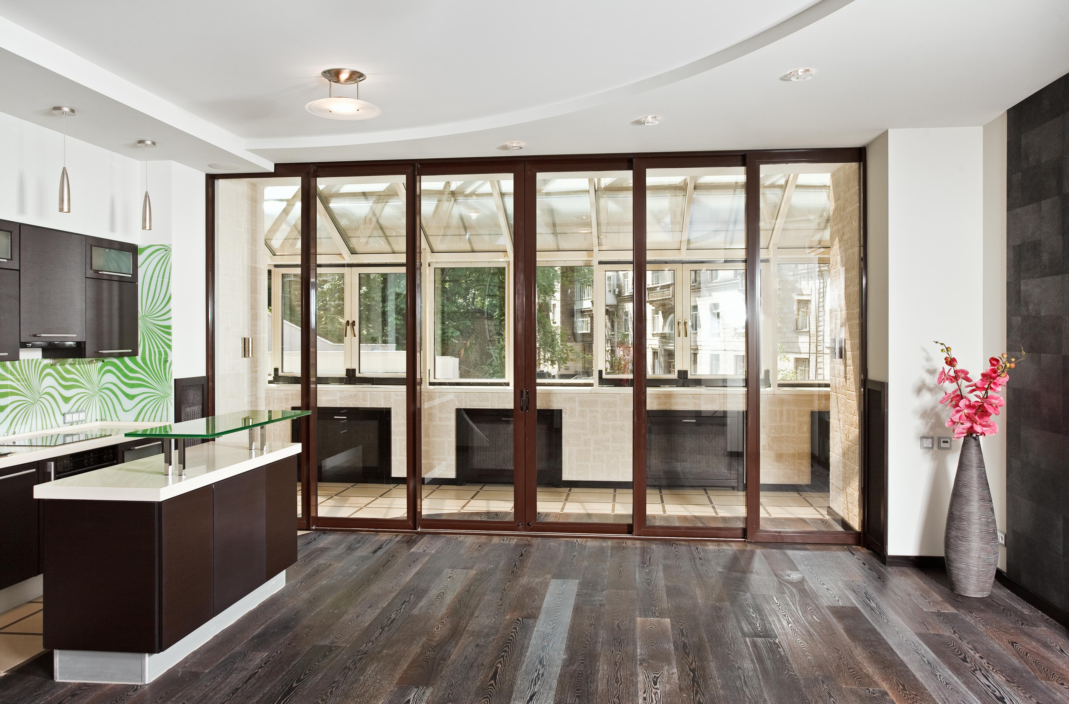Объединение лоджии (балкона) с комнатой/кухней cогласование .